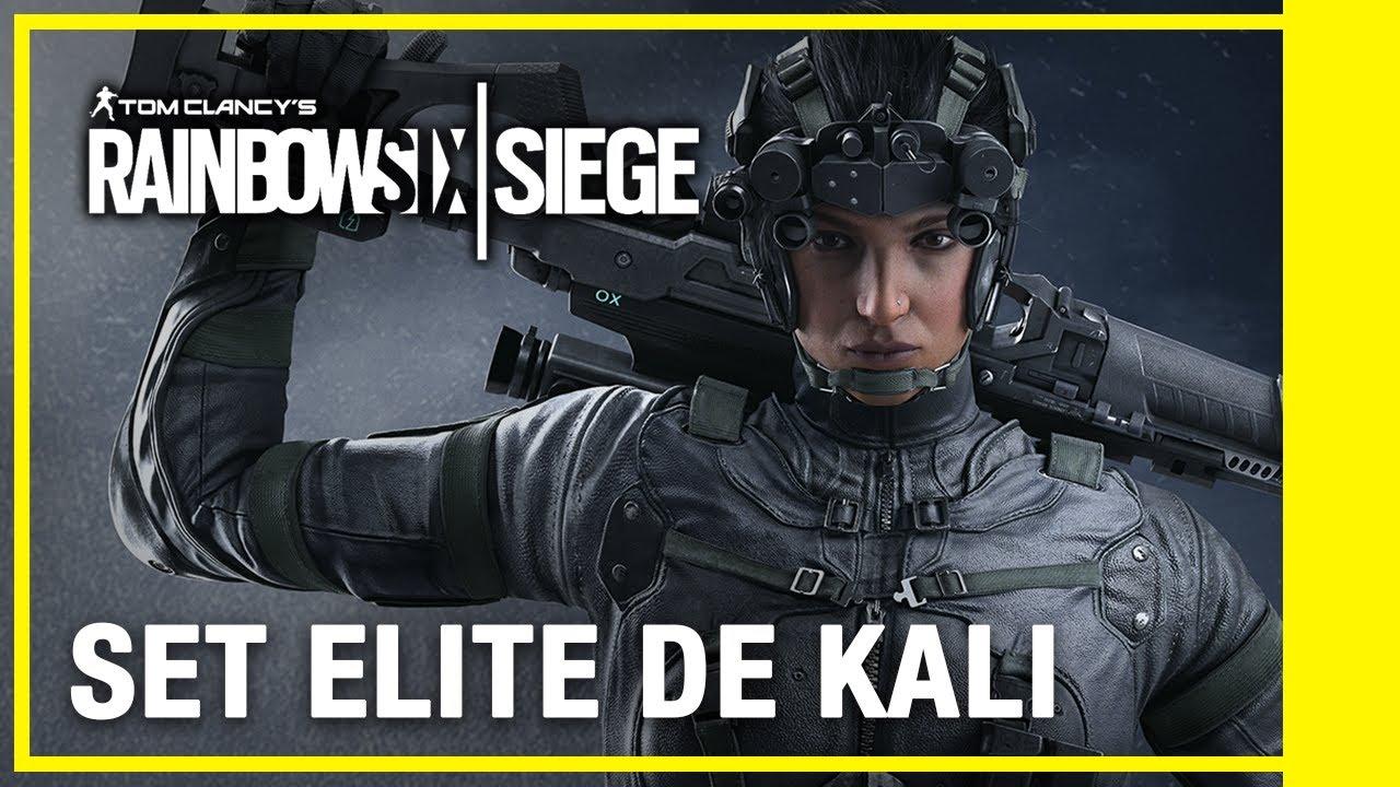 Rainbow Six Siege - Set Élite de Kali | Ubisoft LATAM