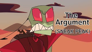 THE ARGUEMENT (INVADER ZIM: A VERY TALL PROBLEM SNEEK PEEK SCENE)