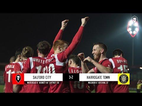 Salford City 3-2 Harrogate Town | The National League 27/11/18