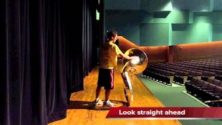 Tom C Clark Tuba Set 1 Choreography (Shift 2012)