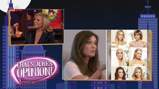 June's Hot Housewives Takes | WWHL