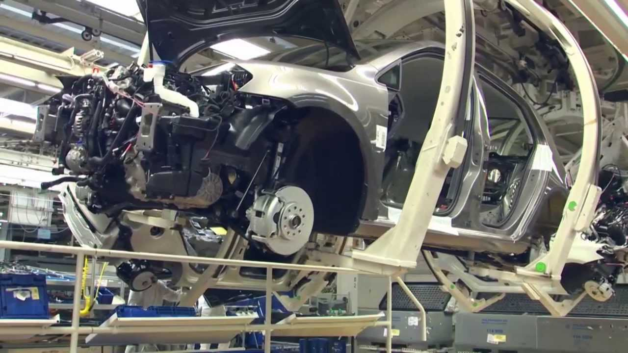 volkswagen golf  production wolfsburg youtube