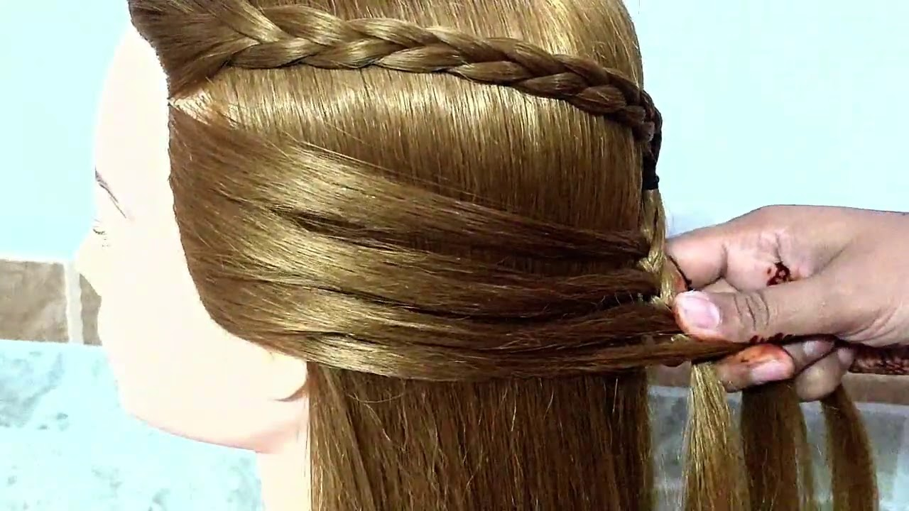 Quick Hairstyles For Girls || Simple and Cute Hairstyle for Girl for Everyday