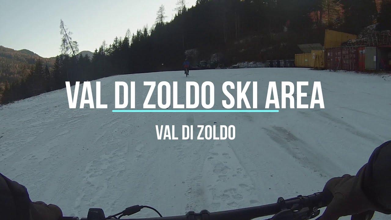 Val di Zoldo Ski Area. Ruote sulla neve con le Fat Bike elettriche.