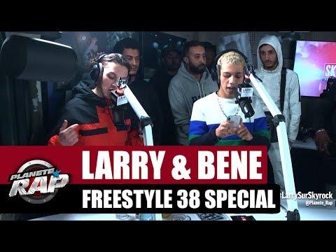 Youtube: Larry & Béné – Freestyle 38 spécial #PlanèteRap