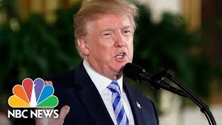 President Donald Trump Speaks At White House Prison Reform Summit | NBC News thumbnail