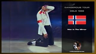 Michael Jackson - Man In The Mirror - Live Oslo 1992 - HD
