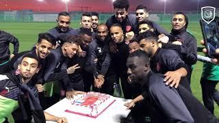 يوسف العربي يدعم الفريق قبل مواجهة السد في نهائي كأس قطر