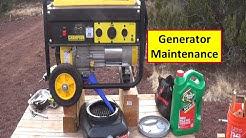 Generator Maintenance - Champion 3500w/4000w oil, spark plug change, clean the carb