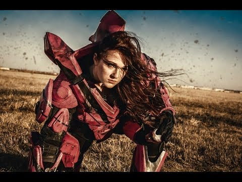 real life halo 4 pink female wetwork costume build youtube