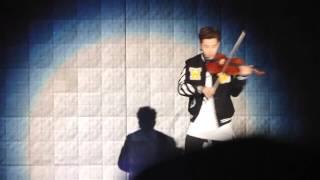 [FANCAM] 151004 Henry Smooth Criminal on Violin @ Gangnam Kpop Festival Concert