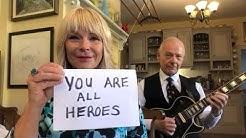 Toyah & Robert Fripp Vs King Crimson  -  Heroes for #VEDay2020
