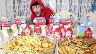 10 HAPPY MEAL CHALLENGE  | 5,000 KALORIEN !! 😲 😲