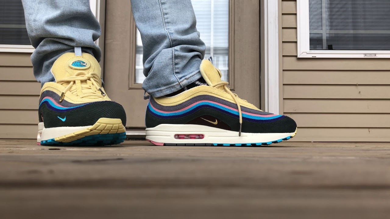 0f3b54a1 Sean Wotherspoon Nike Air Max 97/1 On Foot Look! - YouTube