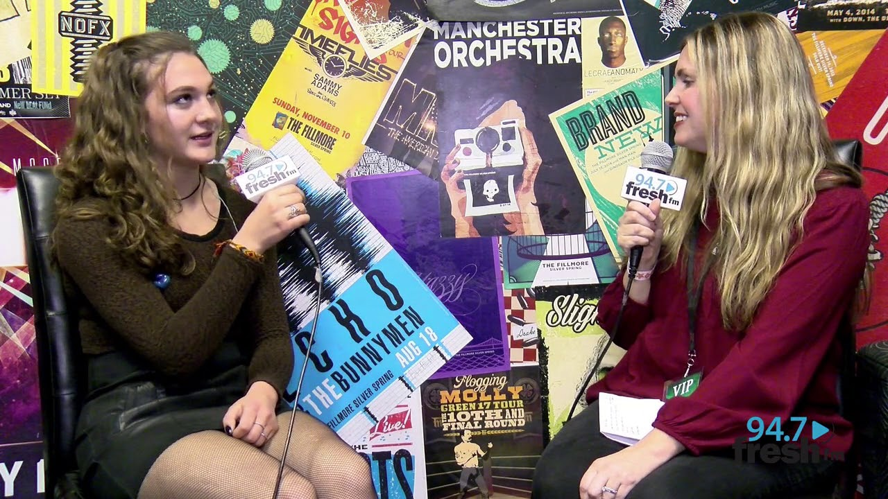 Whitney Woerz Backstage At Not So Silent Night 2017 947 Fresh FM