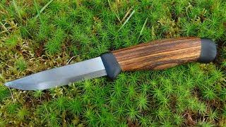 Кастомная рукоять для шведского ножа своими руками