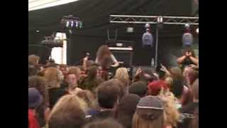 TED MAUL - GUTTING THE REASON & FOR THE INNOCENT (LIVE AT BLOODSTOCK 17/8/08)