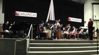 """JHS Jazz @ Joel Leach Clinic: """"Tiger of San Pedro"""" commentary 4/13/2012"""
