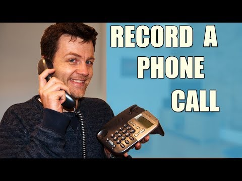 How to record a telephone conversation, Recording phone calls