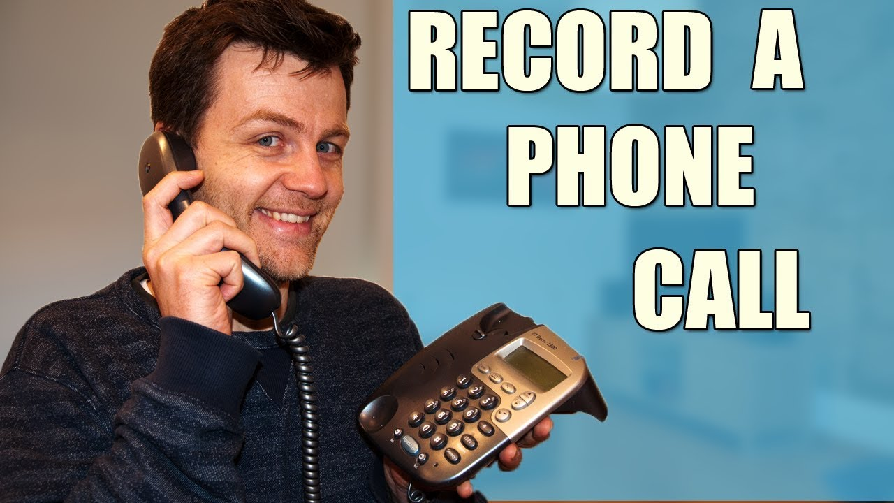 How To Record A Telephone Conversation, Recording Phone