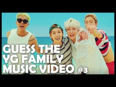 Kpop Quiz: Guess the YG Family Music Video #3