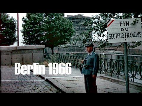 Berlin 1966 - Mauer - Todesstreifen - Ku?damm