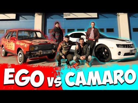 EGO VS CAMARO w / Heads