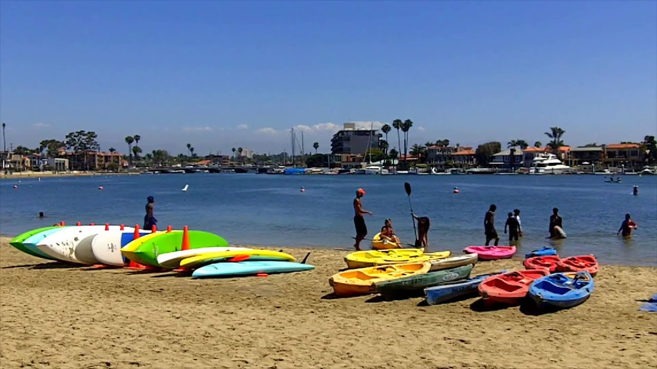 Alamitos Bay Long Beach Kayaking And Water Bike