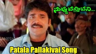 Video Nuvvu Vasthavani Songs - Patala Pallakivai - Akkineni Nagarjuna, Simran Bagga  - Ganesh Videos download MP3, 3GP, MP4, WEBM, AVI, FLV Agustus 2017