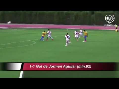 Gol Jorman Estoril vs Rayo Vallecano 2017