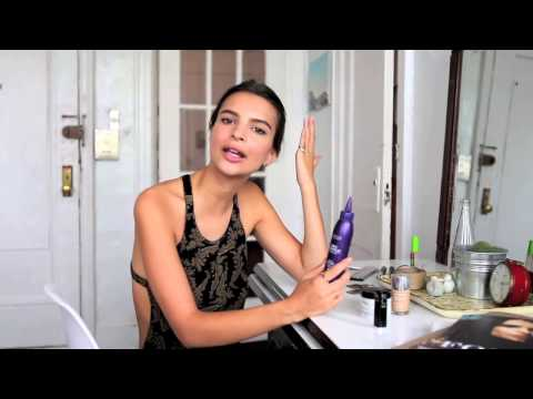 ITG Top Shelf: Emily Ratajkowski's Beauty Routine