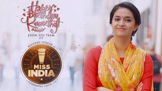 Keerthy Suresh Birthday Song Teaser - Miss India | Narendra | Thaman S | Mahesh S Koneru