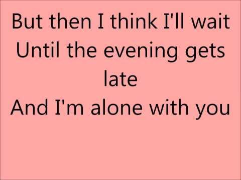Glee Something Stupid with lyrics