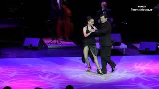 Argentine tango Loca Fernando Gracia and Sol Cerquides with Solo Tango orchestra Танго 2014
