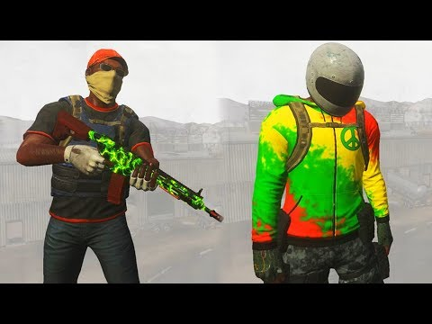 ALL H1Z1 PAYLOAD CRATE SKINS! Ultra Rare Toxic AR15, Rainbow Unicorn AR15 + New Skull Store Skins!