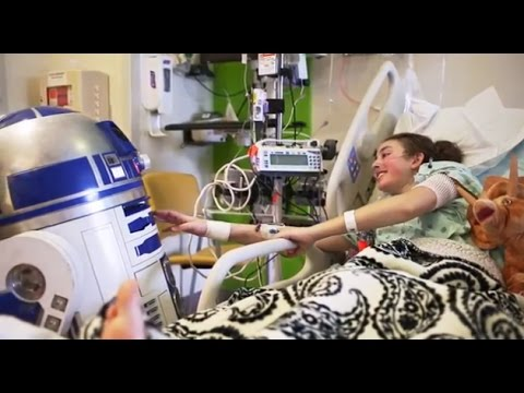 Star Wars Brings Joy to Johns Hopkins Children's Center