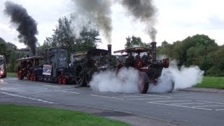 12 Steam Engines Driving to the GDSF 201...
