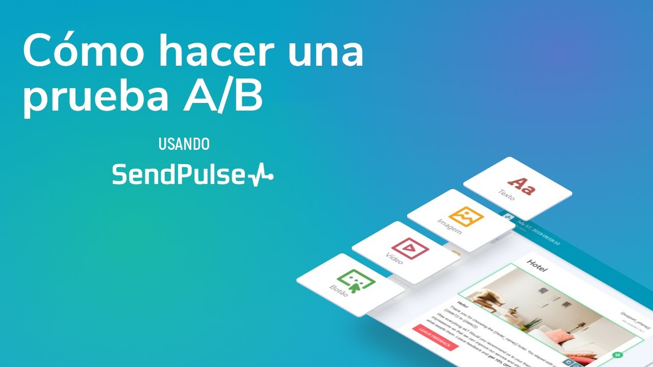 Cómo hacer una prueba A/B usando SendPulse