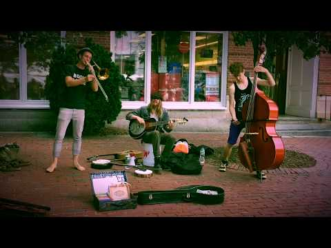 Newbury Street Jazz by Talented Musicians   Boston [Aug 13 2017]
