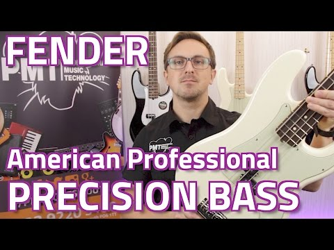 Fender American Professional Precision Bass Review & Demo