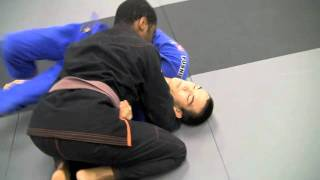 Los Angeles Martial Arts Cobrinha BJJ Side Control Drill