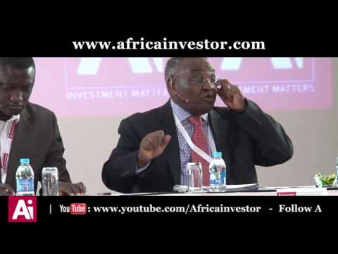 Dr. Mbui Wagacha speaks on Sovereign Wealth Funds at the Ai Pension and SWF Summit 2017