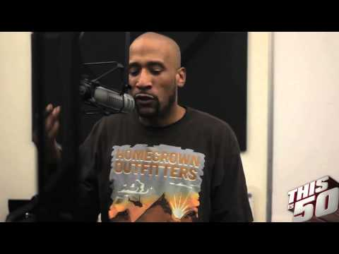 LORD JAMAR FROM BRAND NUBIAN ON THIS IS 50 RADIO