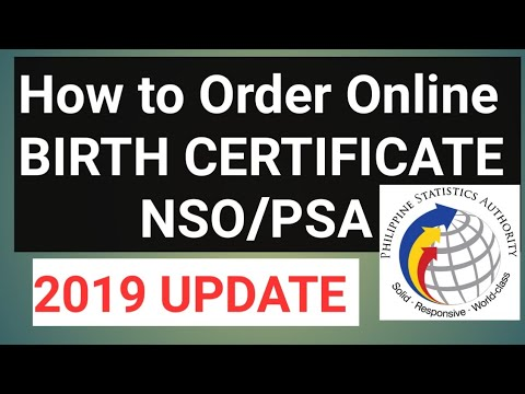 PAANO KUMUHA NG BIRTH CERTIFICATE/NSO/PSA ONLINE | STEP BY STEP GUIDE 2019