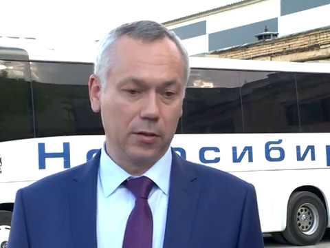 Мэр Локоть и губернатор Травников договорились об обновлении общественного транспорта Новосибирска