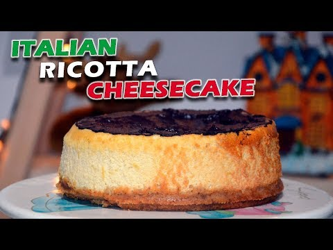 Italian Ricotta Cheesecake with Lemon Zest: Better than Original