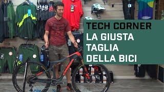 Come scegliere la giusta taglia della bici