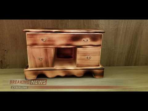 Dollhouse Torched Dresser (Build Tip)