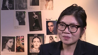 Wang Tao talks about designing clothes for women in leadership roles