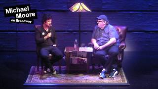 Billy Joe Armstrong visits Michael Moore on Broadway!